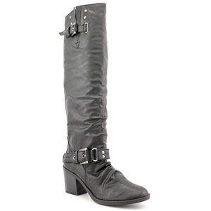 Style & Co Amuse Black knee high boots size 7.5